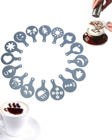 Coffee Decor - Set De 16 Figuras - VoyDeOfertas