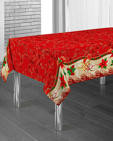 Mantel Red Flower - VoyDeOfertas