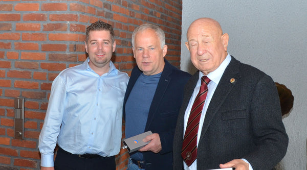 Alexey Leonov and Anatoly Solovjov private visit