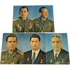 Voschod 1+2 groupsigned portrait set