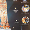 Apollo 7-17 poster - flown artifacts of all Apollo missions