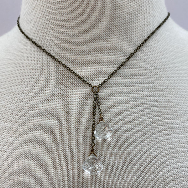 Clear Quartz Necklace