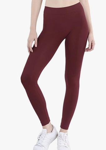 Burgundy Legging