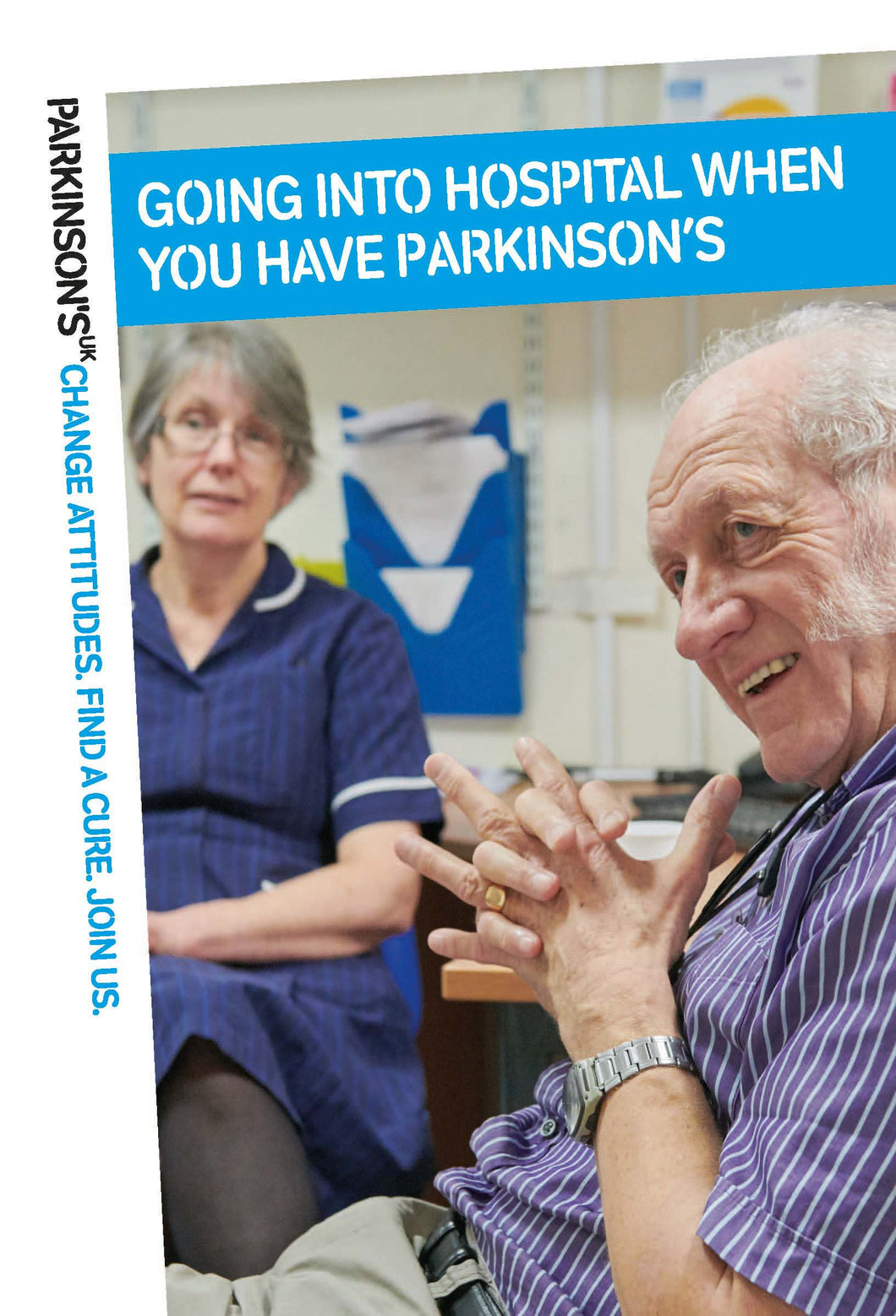 Going into hospital when you have Parkinson's