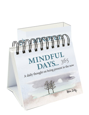 365 Mindful days. A daily thought on being present in the now.