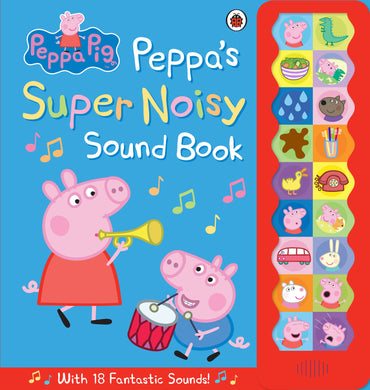 Peppa's noisy sound book