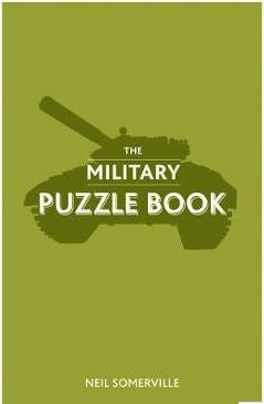 The military puzzle book. Reduced for clearance.