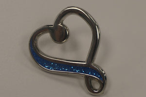 Parkinson's UK infinity heart pin - pack of 10 - Parkinson's shop