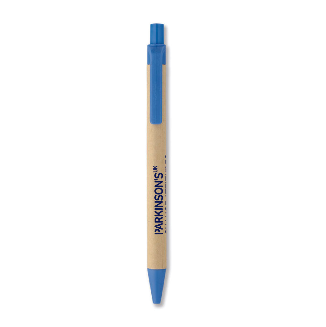 Parkinson's UK recycled pen