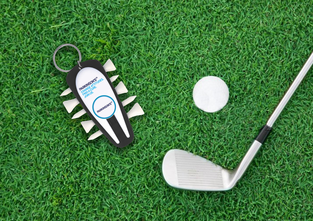 Parkinson's UK recycled golf buddy