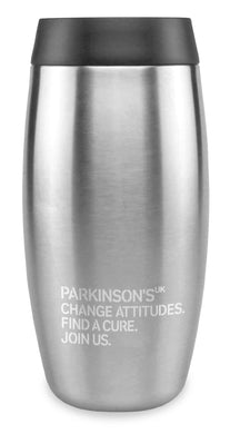 Ohelo for Parkinson's UK stainless steel tumbler. Reduced for clearance.