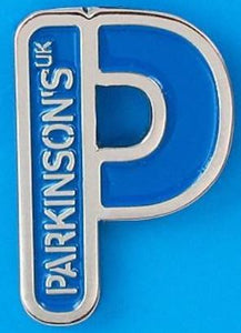 Parkinson's UK P pin