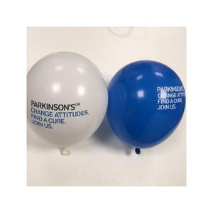 Parkinson's UK balloons - pack of 10. Reduced for clearance.