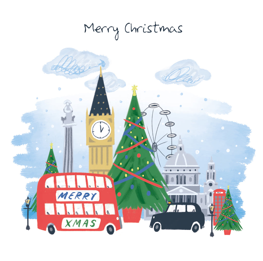 Parkinson's UK Christmas in London charity Christmas cards