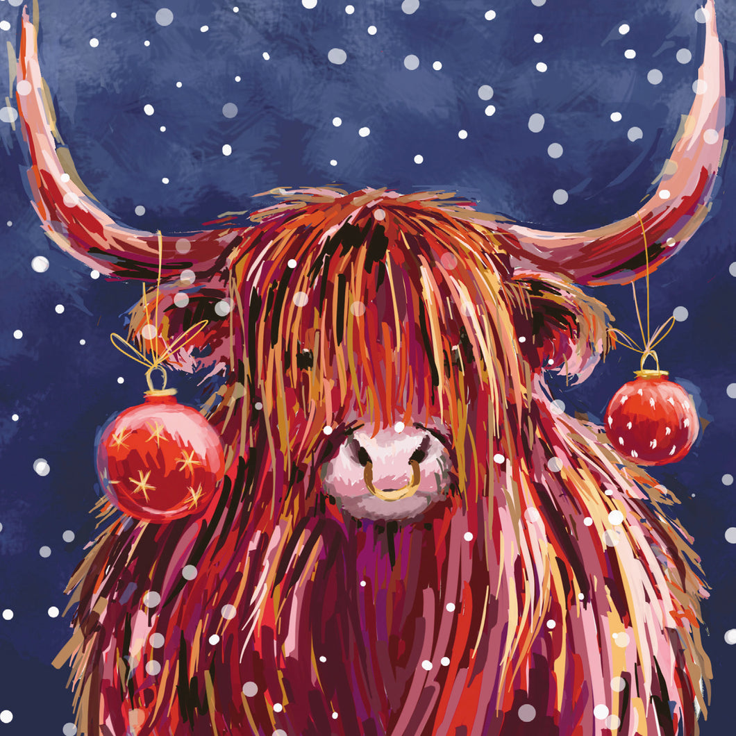 Parkinson's UK Highland baubles charity Christmas cards