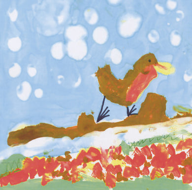 Parkinson's UK Robin watercolour charity Christmas cards