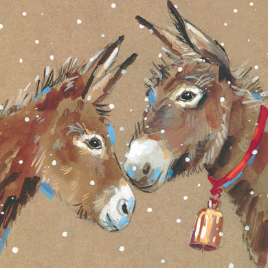 Parkinson's UK Donkey friends charity Christmas cards