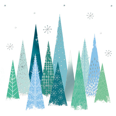 Parkinson's UK Stunning trees charity Christmas cards