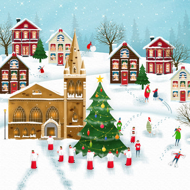Parkinson's UK Gingerbread village charity Christmas cards