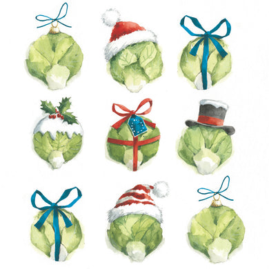 Parkinson's UK One sprout two sprout charity Christmas cards