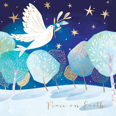 Parkinson's UK Flying dove charity Christmas cards