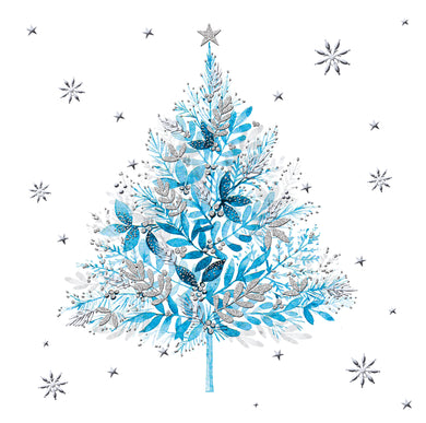 Parkinson's UK Cyan tree charity Christmas cards