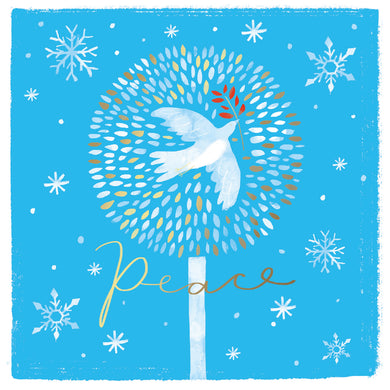 NEW. Parkinson's UK Peace charity Christmas cards.