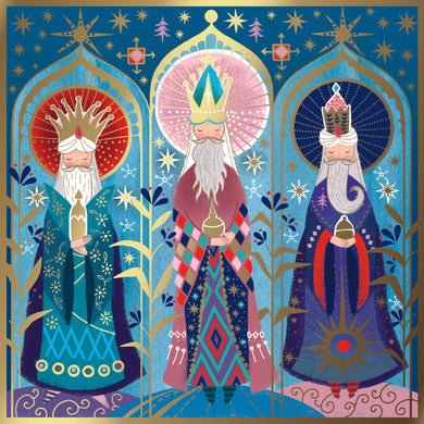 NEW. Parkinson's UK Magi charity Christmas cards.