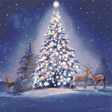Parkinson's UK Tree and deer charity Christmas cards.