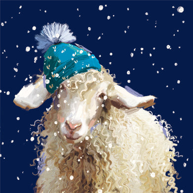 Parkinson's UK Winter warmer charity Christmas cards with bilingual greeting