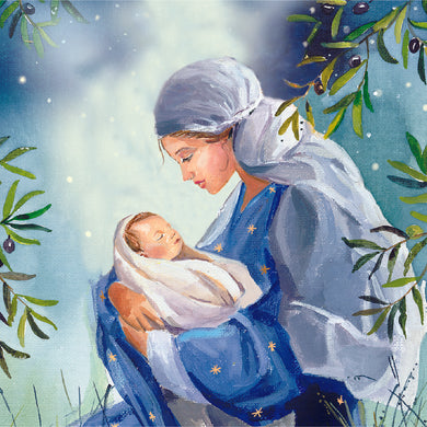 Parkinson's UK Mother and child charity Christmas cards