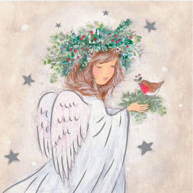 Parkinson's UK Angel and robin charity Christmas cards