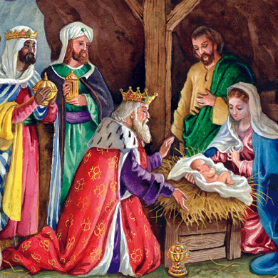 Parkinson's UK Nativity charity Christmas cards