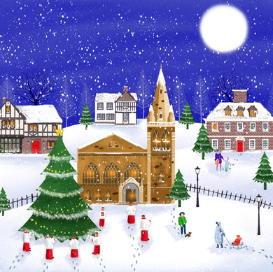 Parkinson's UK Midnight mass charity Christmas cards