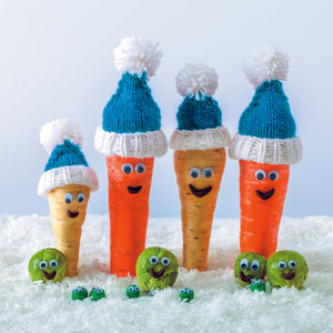 Parkinson's UK Happy vegetables charity Christmas cards
