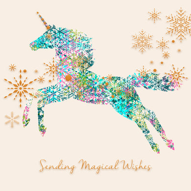 Parkinson's UK Magical unicorn charity Christmas cards