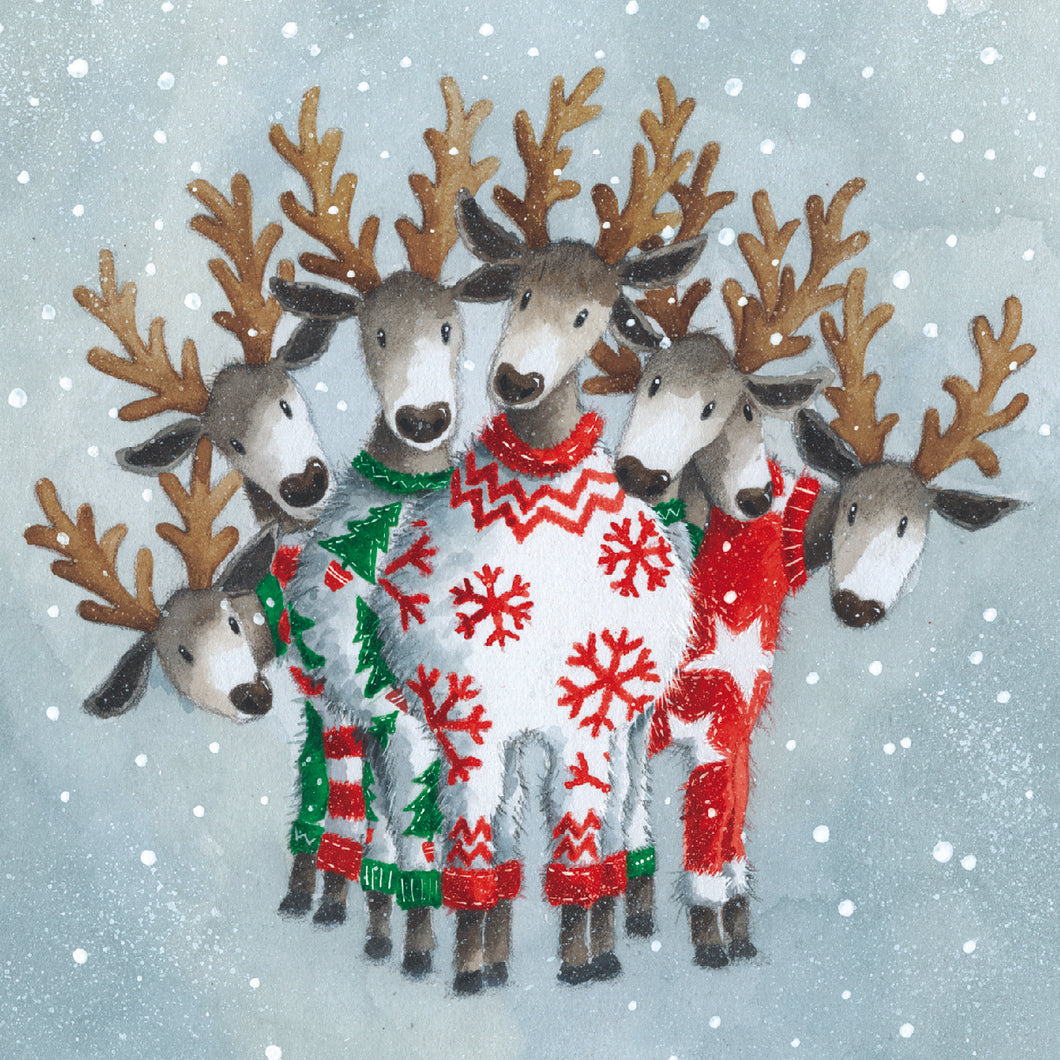 Parkinson's UK Oh deer charity Christmas cards