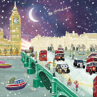 Parkinson's UK Snowy London charity Christmas cards