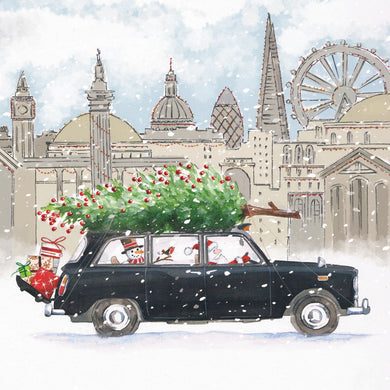 Parkinson's UK Santa's taxi charity Christmas cards