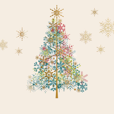 Parkinson's UK Sparkly tree charity Christmas cards.