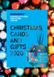 2020 Parkinson's UK Christmas card and gift catalogue