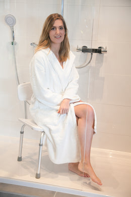 Contour shower stool with back - Parkinson's shop