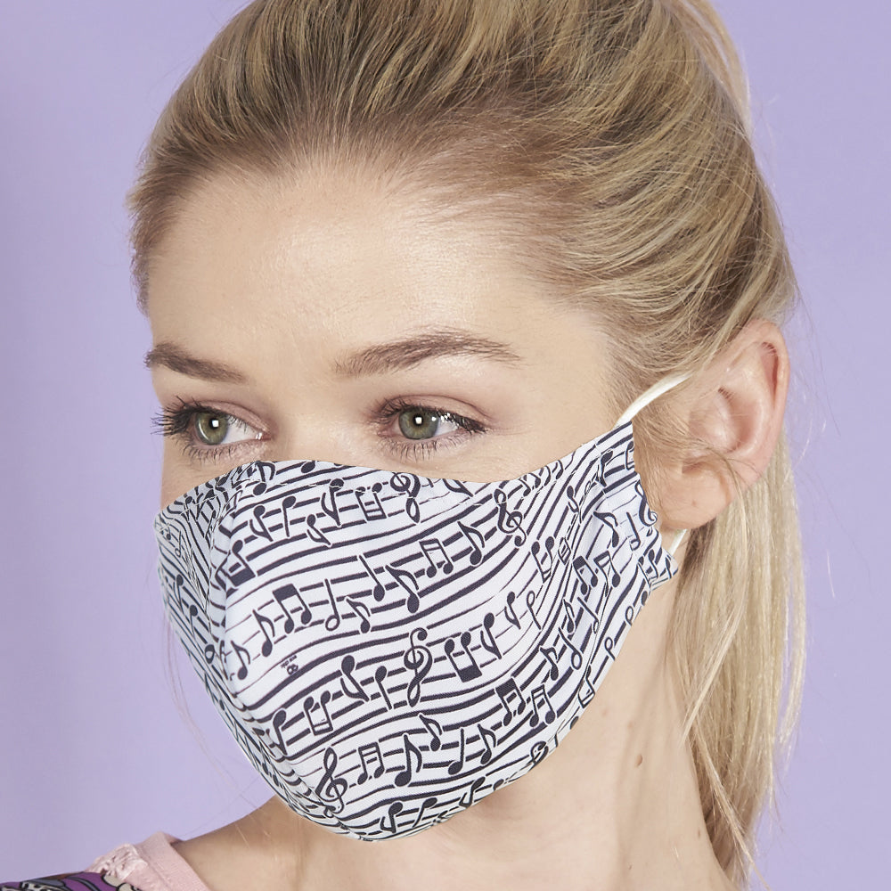 Music face mask
