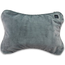 Vibrating heated cushion