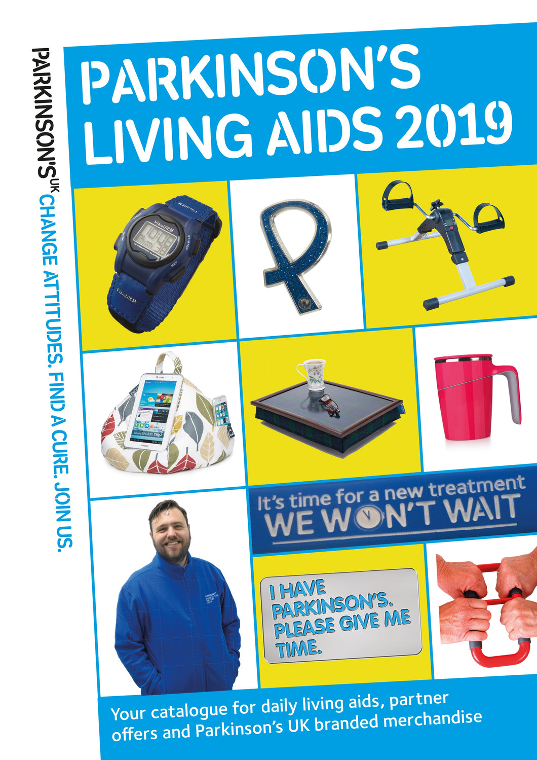 2019 Parkinson's UK living aids catalogue