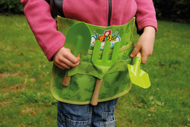 FSC children's adjustable tool belt and gardening set