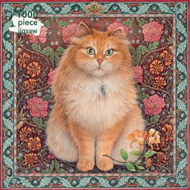 NEW to the range. Blossom cat jigsaw puzzle