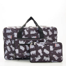 Folding holdall - scotty dog. Reduced for clearance.