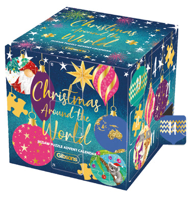 Christmas around the world jigsaw puzzle Advent calendar
