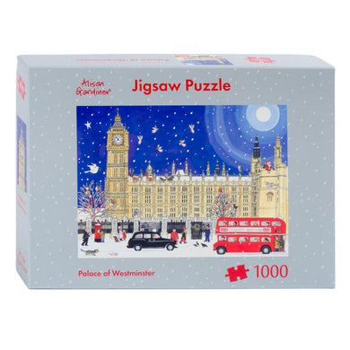 Palace of Westminster jigsaw puzzle by Alison Gardiner